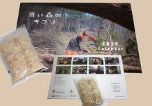 限定販売カレンダー「青い森のキコリ」へ素材提供を行いました。