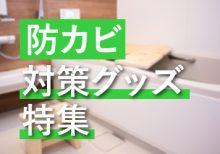 冬に始める「防カビ」対策グッズ 特集!